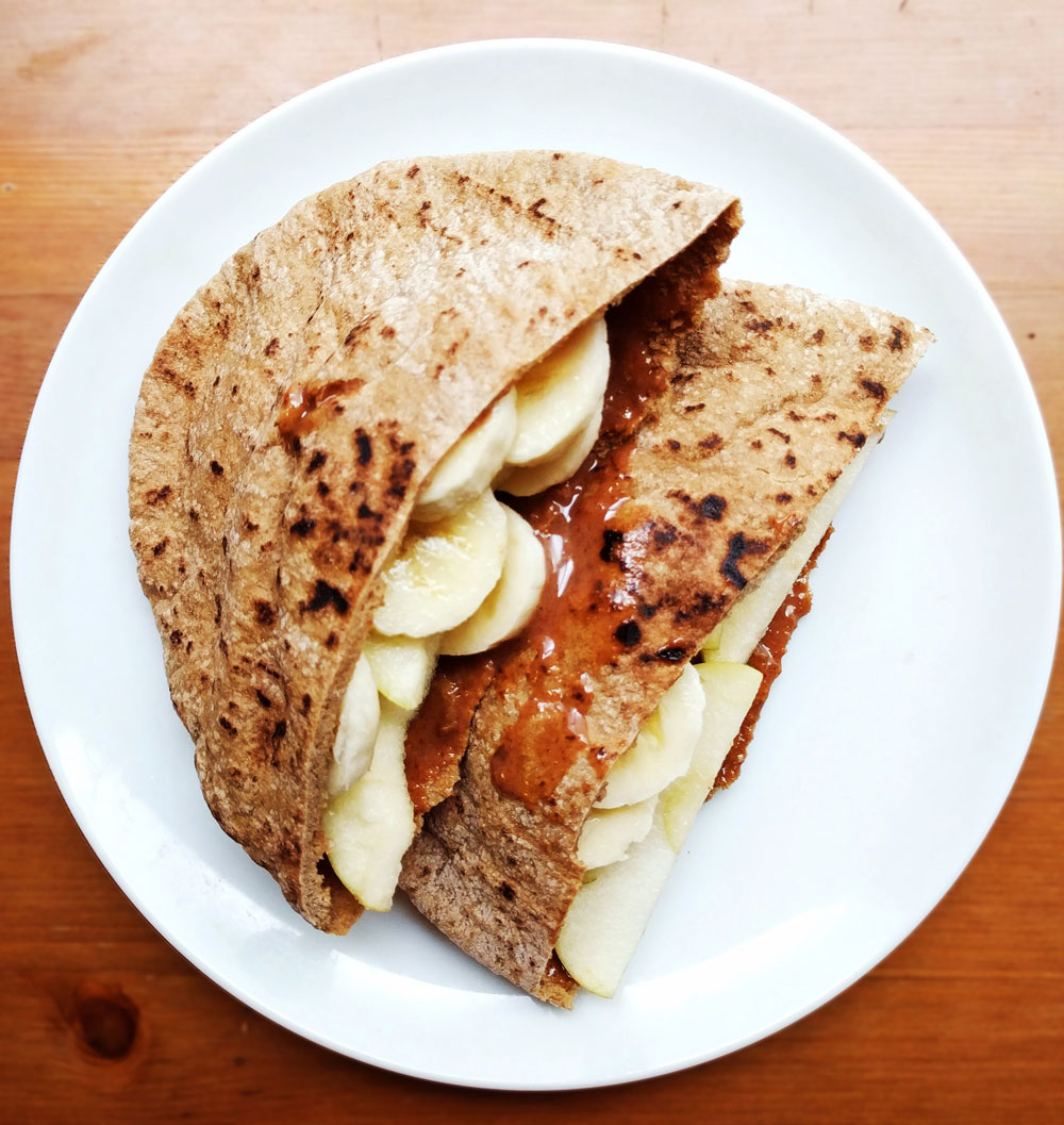 Fruit Pita Pockets Recipe Cooking Healthy